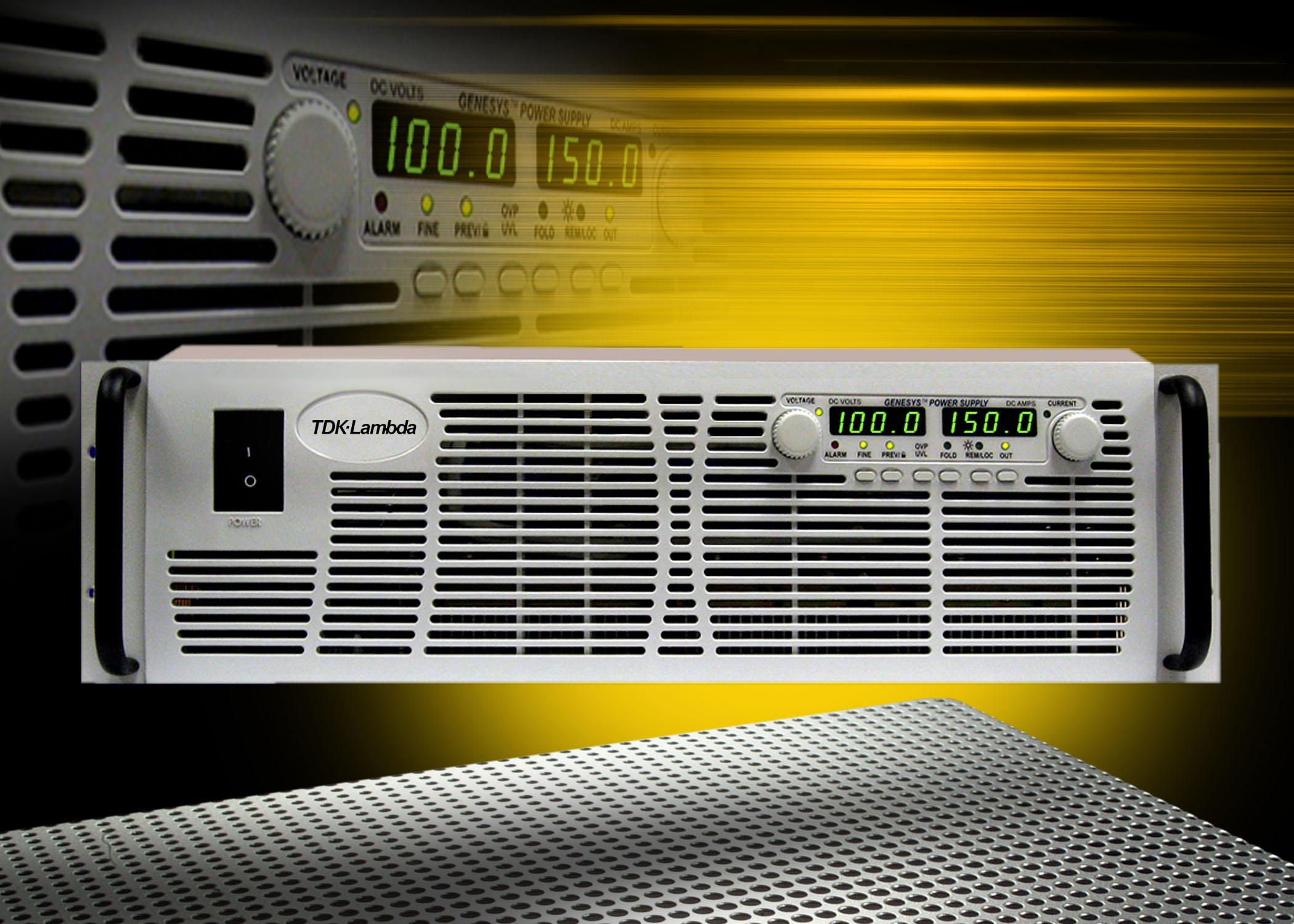 Компания TDK-Lambda объявила о прекращении приёма заказов на программируемые блоки серии GENESYS 3U